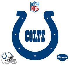 nfl emblem   Indianapolis Colts Logo Fathead NFL Wall Graphic
