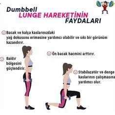 """@irfanbecerikli shared a photo on Instagram: """"💪💪🏋️ Dumbbell Lunge Hareketlerinin faydaları ✅Bacak ve kalça kaslarınızdaki yağ dokusunu erimesine yardımcı olabilir ve sıkı bir görünüm…"""" • Feb 23, 2021 at 10:10am UTC Lunges, Gym Workouts, Fitness, Instagram, Workout Exercises, Exercise Workouts, Gymnastics Workout"""