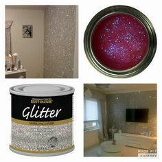 Oh my what's not to love about ✨sparkly walls ✨