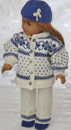 knitting patterns for 18 american girl dolls | knit american girl doll clothes