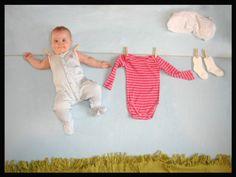 Mise en scène photo bébé