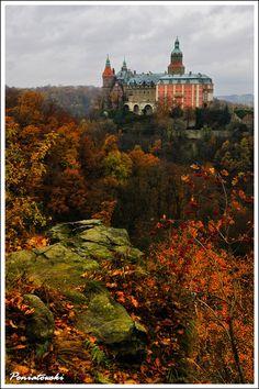 Ksiaz Castle - Ksiaz, Dolnoslaskie