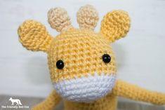 Free Crochet Pattern for The Friendly Mini Giraffe – thefriendlyredfox.com