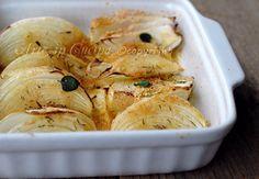 Cipolle gratinate al forno ricetta light   Arte in Cucina