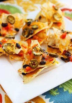 Cheesy Mexican Nacho Stacks Recipe on Yummly. @yummly #recipe
