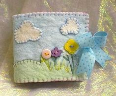 adorable felt needlebook Idea only, just stunning xox