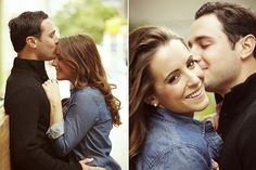 Romantic and fun engagement photography in new york city