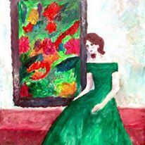 """Girl in a Green Dress"""