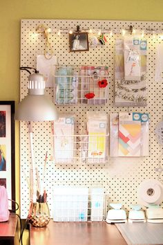 Craft Organization by Chantalle McDaniel for We R Memory Keepers