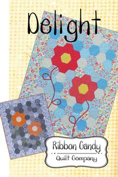 Ribbon Candy Quilts - Delight Quilt Pattern