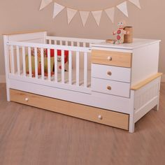 Funcional Bambú Kids Bedroom Designs, Bedroom Bed Design, Kids Room Design, Baby Bedroom, Baby Boy Rooms, Baby Room Decor, Nursery Room, Rustic Baby Cribs, Twin Cribs