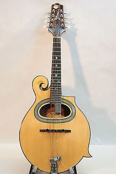 $499 Paris-Swing-Gipsy-Jazz-Mandolin-Solid-Woods-with-Case-Excellent-Condition