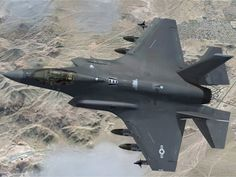 F-35 Lightning II Joint Strike Fighter2 Not really that stealthy with all the external load points.