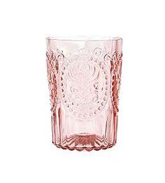 beautiful pink romantic glasses