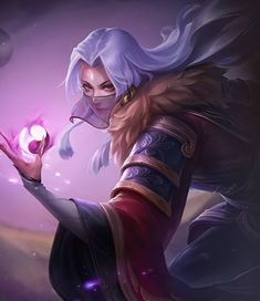 Galaxy Wolf, Moba Legends, Anime Titles, The Legend Of Heroes, Mobile Legend Wallpaper, Anime Neko, Anime Art Girl, League Of Legends, Aesthetic Anime