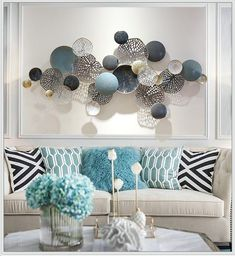 Nordic Style Abstract Wall Decoration – Wall Art LoveYou can find Metal wall art and more on our Nordic Style Abstract Wall Decoration – Wall Art Love Tv Wall Decor, Metal Wall Decor, Living Room Art, Living Room Designs, Large Metal Wall Art, Metal Art, 3d Wall Art, Mirror Wall Art, Art 3d