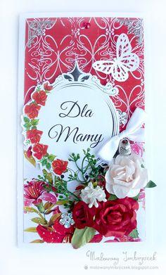 Dzień Matki   #scrapbooking, #card, #kartka, #handmade, #rękodzieło, #malowanyimbryczek, #mother