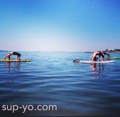 SUP Yoga classes in Boston