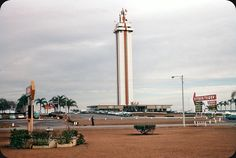 Landmark Citrus Tower, Clermont, Florida — 1950s,