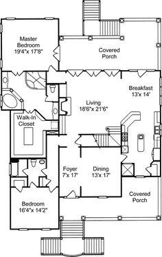 150 best charleston house plans images on Pinterest | Beach houses ...