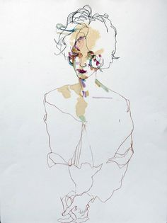 ArtHouse: Howard Tangye.                         Love the sketching style.  The painting... When to stop!!?