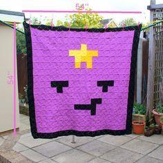 Lumpy Space Princess (Adventure Time) Crochet Blanket by EssHaych