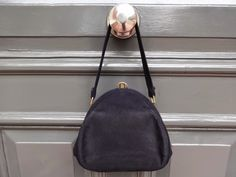 Huntress London: FOUND -  Handbag That's Blue with Envy