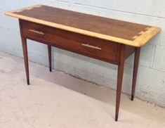 Mid Century Modern RARE Lane Acclaim Console Table.  This is just like mine. Love it!