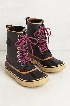 1964 Premium Canvas Boots by Sorel - the perfect fun-and-fashionable snow boots