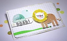 Always Roar Card by Square at @Studio_Calico