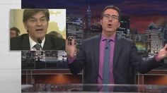 Host John Oliver Skewers Dr. Oz, Dietary Supplements, and Shameless Pandering on 'Last Week Tonight'