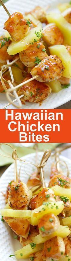 Hawaiian Chicken Bites Recipe | Food And Cake Recipes