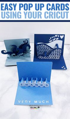Cricut Pop Up Cards, 3d paper crafts #cricut #cricutcrafts #cricutcards #popupcards #papercrafts
