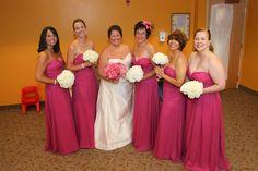Carlee and her bridesmaids! Bridesmaids, Bridesmaid Dresses, Wedding Dresses, Fashion, Bridal Dresses, Moda, Bridal Gowns, Bridesmaid, Bridesmaid A Line Dresses