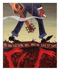 """travisruiz: """" Me & The Devil Blues """""""