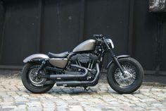 Can't wait until my bike is sporting its new pipes! #harleydavidsonsportsterfortyeight