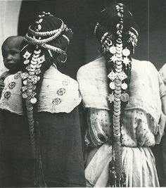 Hair ornaments of the Ziz Valley, Morocco