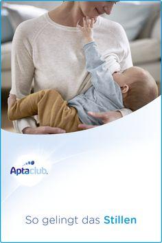 Das erste Stillen: Unsere  Stillexpertinnen vom Aptaclub Elternservice haben hilfreiche Informationen und Tipps rund ums Thema Stillen für dich zusammengestellt. Pullover, Sweatshirts, Sweaters, Breast Feeding, Helpful Tips, Parents, Round Round, Children, Sweater