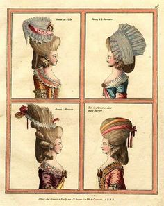 18th-century American Women: More Big Hair -- Higher, Higher, Higher