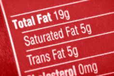 Eliminate trans-fat? What does THAT mean?