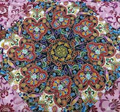 Kaleidoscope Filigree Quilt by pearl25 on Etsy
