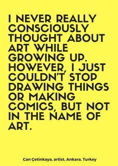 Read the interview on: thefloatingmagazine.com  #art #design #illustration #inspirationalquote #quote #contemporaryart #turkey