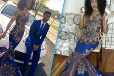 This Teen Slayed a Prom Dress Made From African Fabric Her Teacher Called 'Tacky'