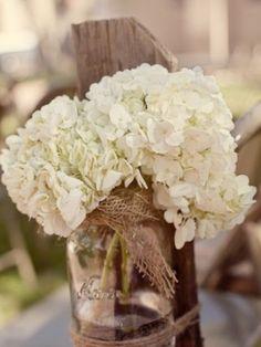 Pretty for rustic themed wedding