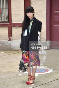 Susie Bubble arrives to attend the Maison Martin Margiela show as... News Photo 451896536