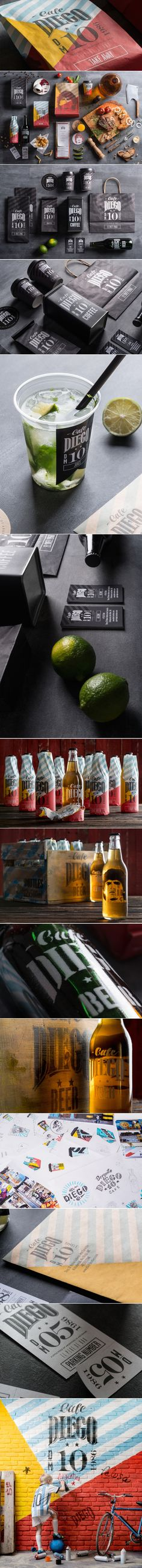 Cafe Diego — The Dieline | Packaging & Branding Design & Innovation News