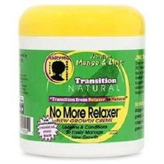 Jamaican Mango & Lime Transition Natural No More Relaxer Daily Creme