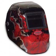 Fiber Metal FMX Welding Helmet - Demon