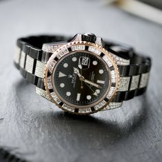 Patek Philippe, Black Rolex, Diamond Ice, Rolex Gmt Master, Rolex Watches, Label, Accessories, Black People