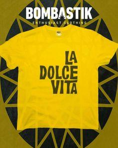 LA DOLCE VITA.  GET YOURS!  #bombastik #boy #boys #ladolcevita #italia #fellini #blackandwhite #fashion #cinema #rome #mastroianni #cinemalover #man #men #photooftheday #picoftheday #tshirtdesign #tee #customized #design #stylishmen #swag #movie #swaggers #tshirtdesign #camisetas #printedtees #italiano #moviequotes